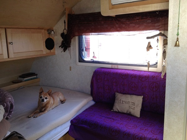 Cheap RV Living Retired And In A Teardrop Trailer
