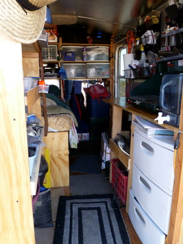 Cheap Rv Living Com Living In A Converted Cargo Trailer