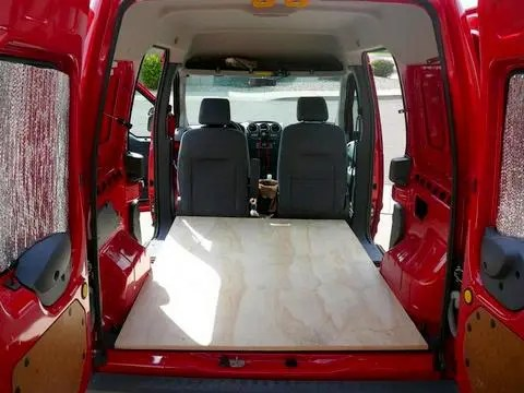 Cheap Rv Living Com Converting A Ford Transit Connect
