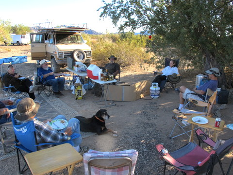 The tribe at Thanksgiving 2012.