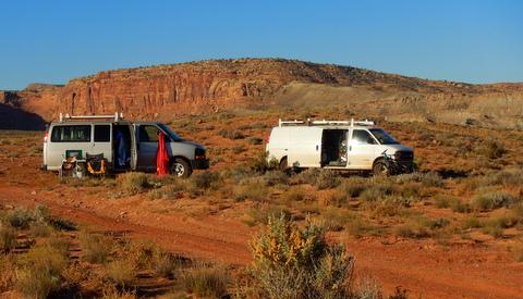 Trip-Moab-camp-road