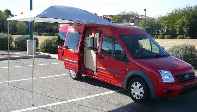 Cheap Rv Living Com Ford Transit Connect Conversion