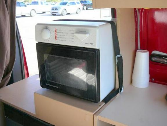 The microwave.