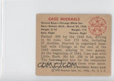 1950 Bowman #91 - Cass Michaels - Courtesy of CheckOutMyCards.com