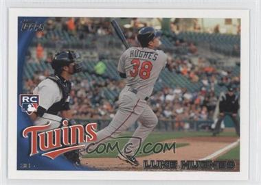 2010 Topps Update #US109 - Luke Hughes  RC (Rookie Card) - Courtesy of CheckOutMyCards.com