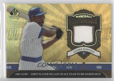 2006 SP Legendary Cuts Baseball Chronology Materials #AD - Andre Dawson Pants - Courtesy of CheckOutMyCards.com