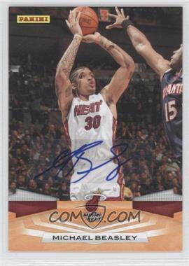 2009-10 Panini Inscriptions #132 - Michael Beasley - Courtesy of CheckOutMyCards.com