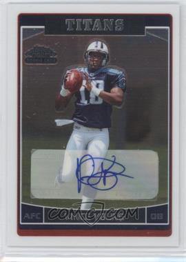 2006 Topps Chrome Rookie Autographs #223 - Vince Young A - Courtesy of CheckOutMyCards.com