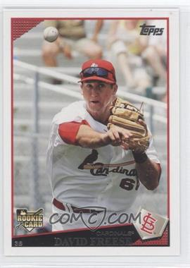 2009 Topps #643 - David Freese RC (Rookie Card) - Courtesy of CheckOutMyCards.com