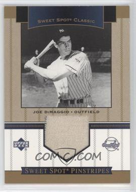 2003 Sweet Spot Classics Pinstripes #JD - Joe DiMaggio SP - Courtesy of CheckOutMyCards.com