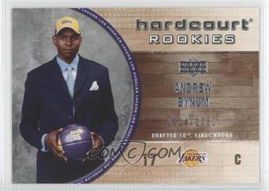 2005-06 Upper Deck Hardcourt #126 - Andrew Bynum RC (Rookie Card)/1750 - Courtesy of CheckOutMyCards.com