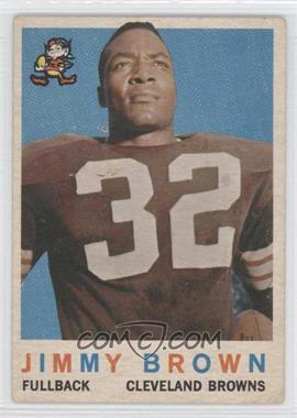 1959 Topps #10 - Jim Brown - Courtesy of CheckOutMyCards.com