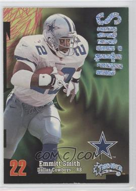 1998 SkyBox Thunder Rave #222 - Emmitt Smith/150 - Courtesy of CheckOutMyCards.com