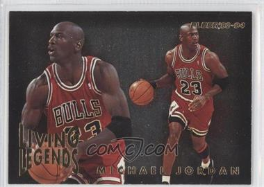 1993-94 Fleer Living Legends #4 - Michael Jordan - Courtesy of CheckOutMyCards.com