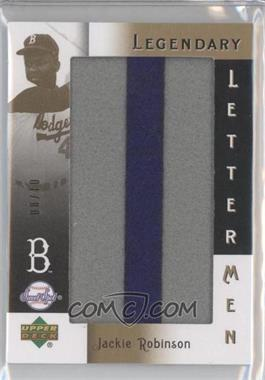 2007 Sweet Spot Classic Legendary Lettermen #LL26I - Jackie Robinson I/10 - Courtesy of CheckOutMyCards.com