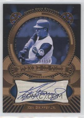 2004 Upper Deck Etchings Etched in Time Autograph Blue #KG - Ken Griffey Jr./150 - Courtesy of CheckOutMyCards.com