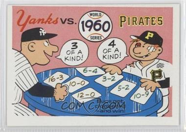 1970 Fleer World Series #57 - 1960 Pirates/Yankees - Courtesy of CheckOutMyCards.com