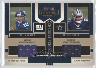 2004 Playoff Honors Rookie Tandem Jerseys #RT1 - E.Manning/J.Jones - Courtesy of CheckOutMyCards.com
