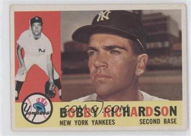1960 Topps #405 - Bobby Richardson - Courtesy of CheckOutMyCards.com