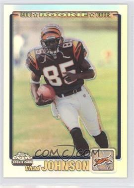 2001 Topps Chrome #259 - Chad Johnson RC (Rookie Card)/999 - Courtesy of CheckOutMyCards.com