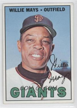 1967 Topps #200 - Willie Mays UER ('63 Sna Francisco on Card Back) - Courtesy of CheckOutMyCards.com