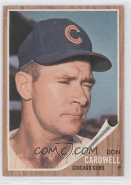 1962 Topps #495 - Don Cardwell - Courtesy of CheckOutMyCards.com