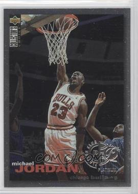1995-96 Collector's Choice Player's Club Platinum #45 - Michael Jordan - Courtesy of CheckOutMyCards.com