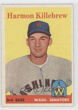 1958 Topps #288 - Harmon Killebrew - Courtesy of CheckOutMyCards.com