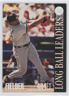 1994 Donruss Long Ball Leaders #1 - Cecil Fielder - Courtesy of CheckOutMyCards.com