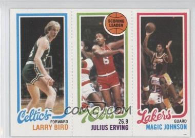 1980-81 Topps #6 - 34 Bird RC (Rookie Card)/Erving/Magic RC (Rookie Card) - Courtesy of CheckOutMyCards.com