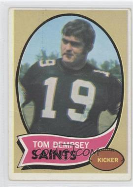 1970 Topps #140 - Tom Dempsey RC (Rookie Card) - Courtesy of CheckOutMyCards.com