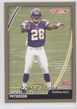 2007 Topps Total Gold #456 - Adrian Peterson - Courtesy of CheckOutMyCards.com