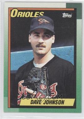 1990 Topps #416 - Dave Wayne Johnson RC (Rookie Card) - Courtesy of CheckOutMyCards.com