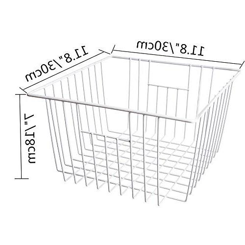 MOHICO Freezer Basket Wire Storage Basket Bins Organizer