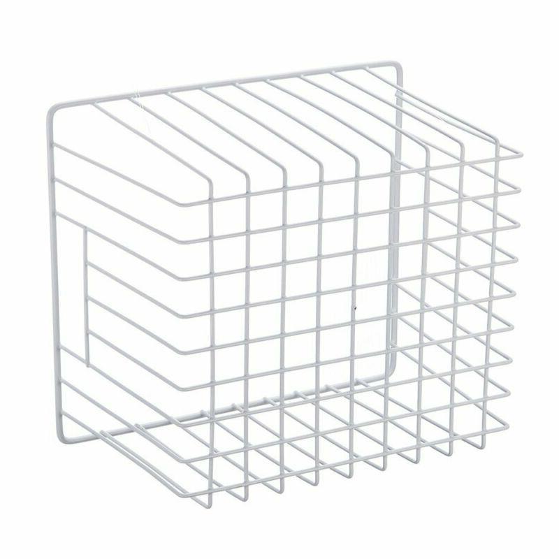 Storage Basket Chest Freezer Wire Regular White PE