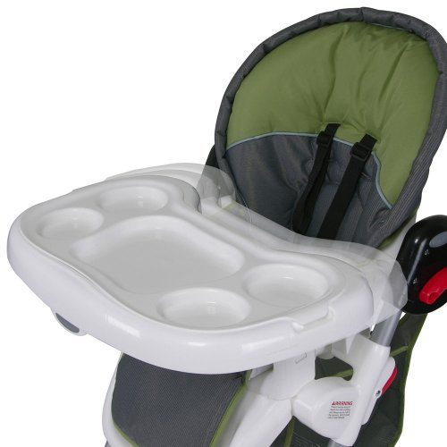 green high chair theater chairs for home baby trend columbia gray reviews in highchairs image gallery