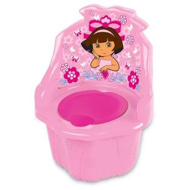3 in 1 potty chair rustic metal kitchen chairs dora the explorer pink reviews baby bathroom potties seats chickadvisor