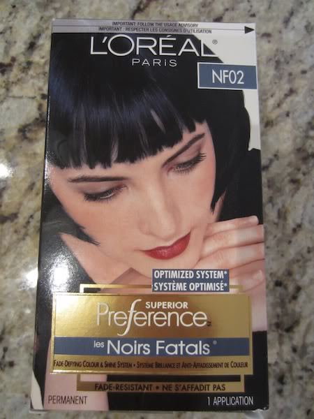 LOreal Superior Preference Les Noir Fatals Hair Colour In