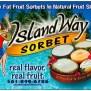 Island Way Sorbet Reviews In Ice Cream Chickadvisor