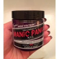Manic Panic Purple Haze hair dye reviews in Hair Colour ...