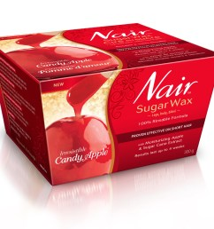 nair irresistible candy apple sugar wax  [ 1000 x 857 Pixel ]
