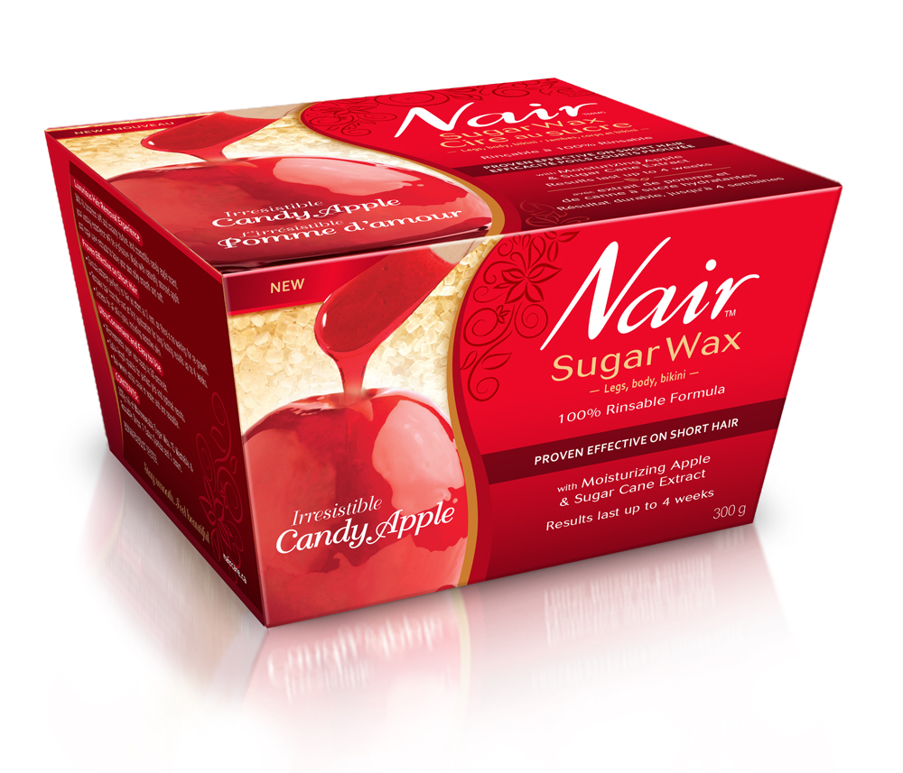 medium resolution of  nair irresistible candy apple sugar wax