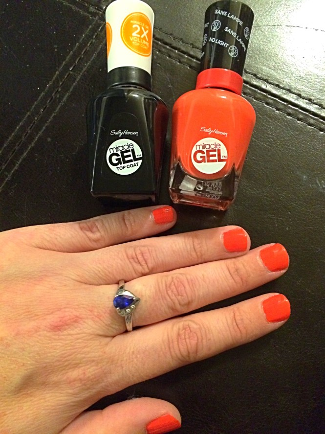 Review Sally Hansen Miracle Gel Colour And Top Coat 2 Pack Aussie Beauty Talk