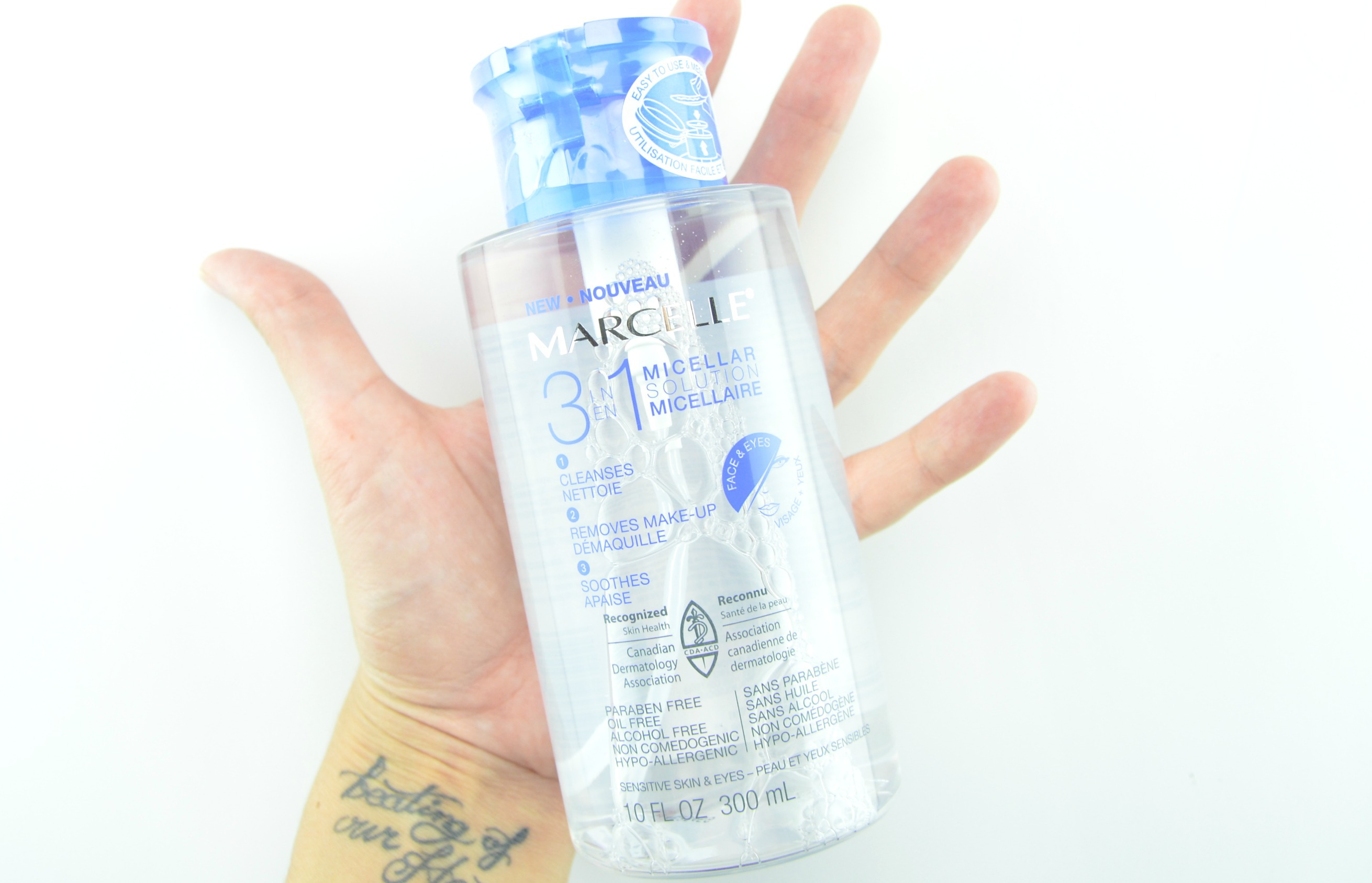Marcelle 3-in-1 Micellar Solution reviews in Face Wash ...
