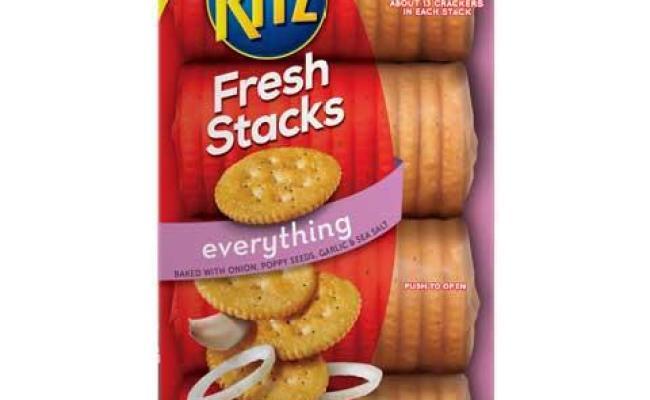Ritz Fresh Stacks Everything Crackers Reviews In Snacks Chickadvisor