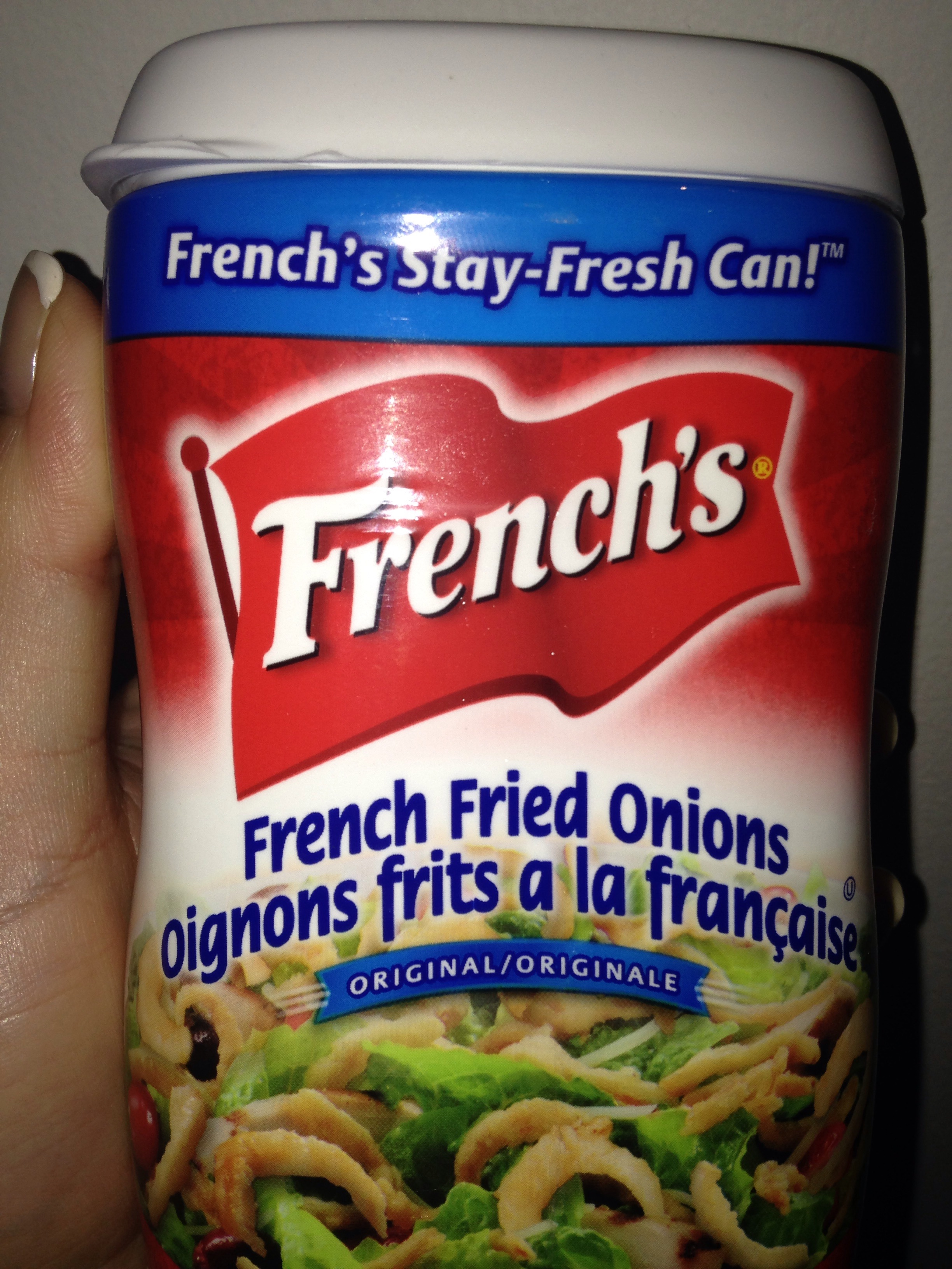 Frenchs Fried Onions Reviews In Grocery  Chickadvisor