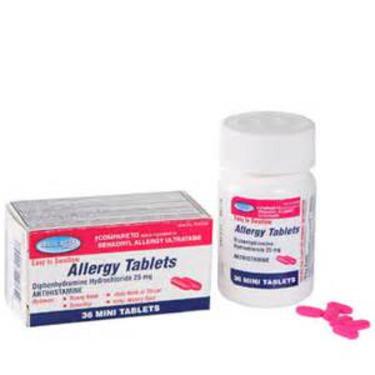 Assured Allergy Antihistamine Tablets (Diphenhydramine HCL ...