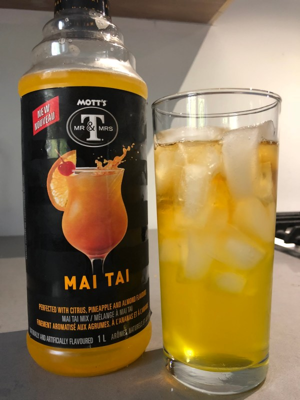 Mott39s Mr Mrs T Mai Tai Cocktail Mix reviews in Cocktail