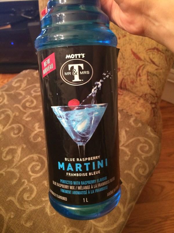 Mott39s Mr Mrs T Blue Raspberry Martini Cocktail Mix