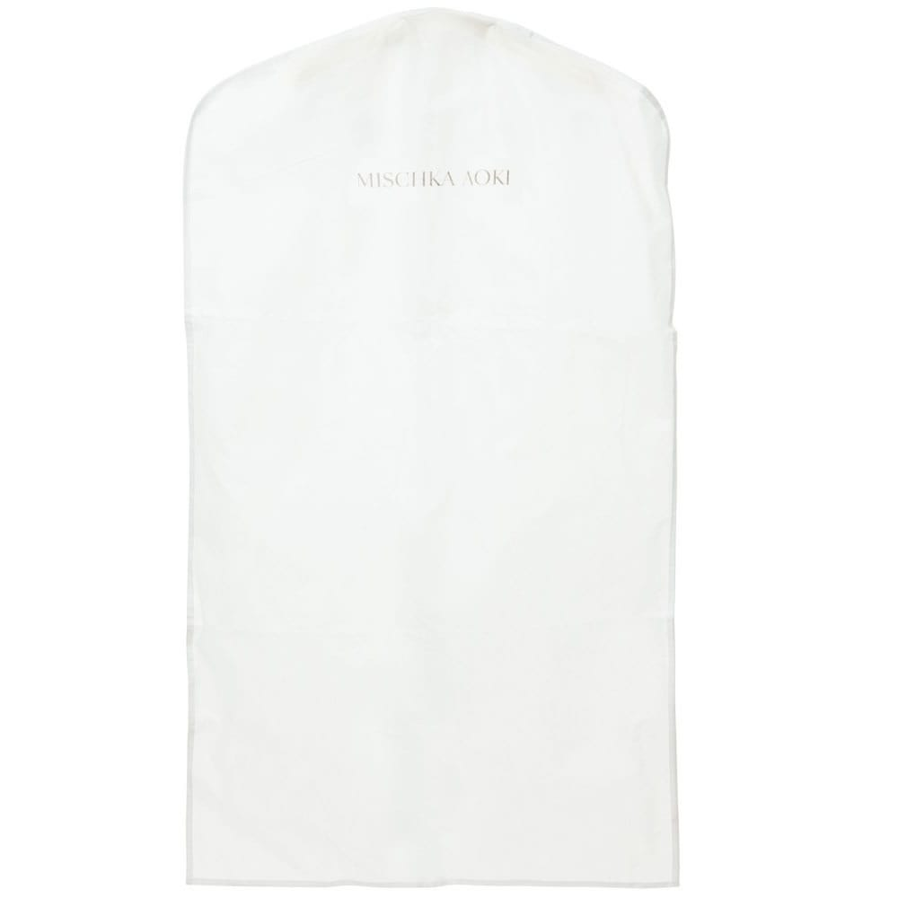 MISCHKA AOKI White 'Love Me, I Am Beautiful' Tulle Dress